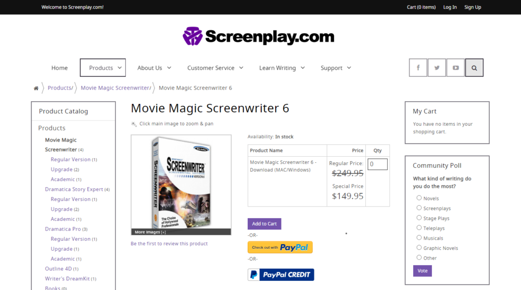 Movie Magic Screenwriter 6